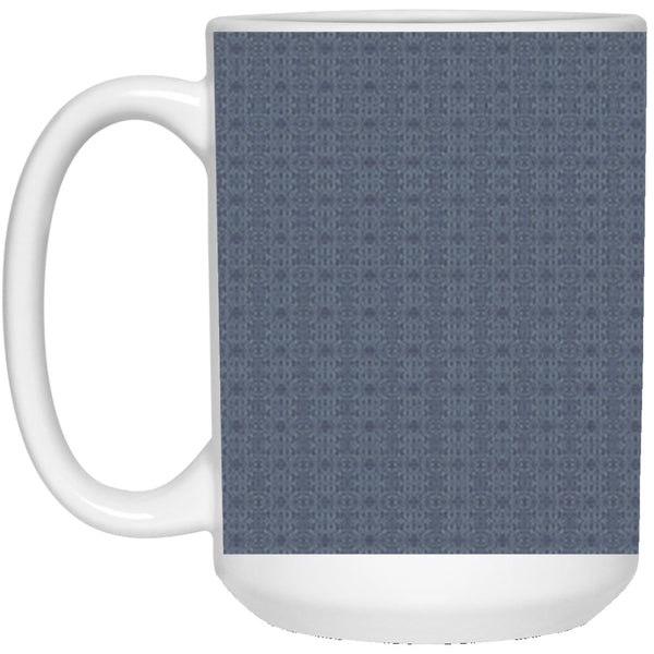 Product name: Recursia® Contemplative Jaguar Series VIII 15 Oz. Large Mug. Keywords: 15 Oz. Large Mug, Contemplative Jaguar, Drinkware