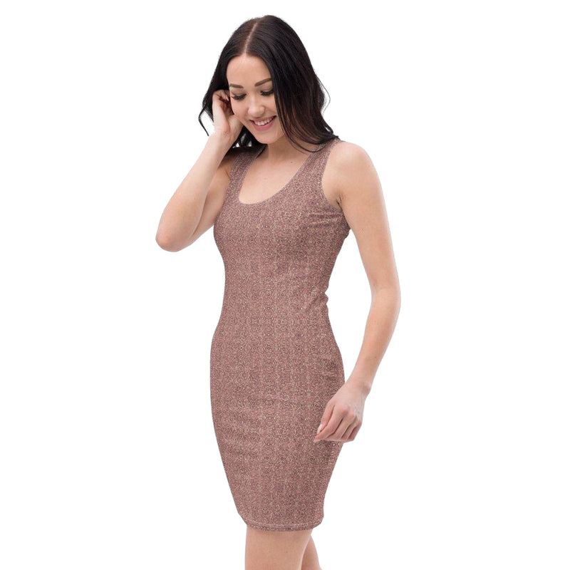 Product name: Recursia® Fabrique Unknown Series I Pencil Dress. Keywords: Clothing, Fabrique Unknown, Pencil Dress, Women's Clothing