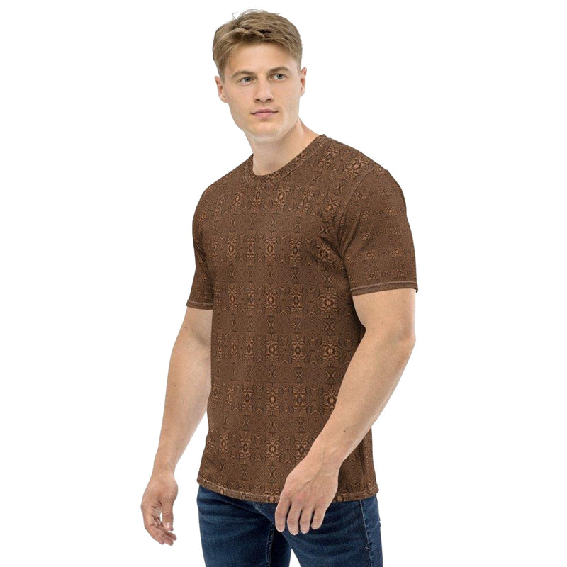 Product name: Recursia® Fabrique Unknown Series Men's Crew Neck T-Shirt. Keywords: Clothing, Fabrique Unknown, Men's Clothing, Men's Crew Neck T-Shirt, Men's Tops