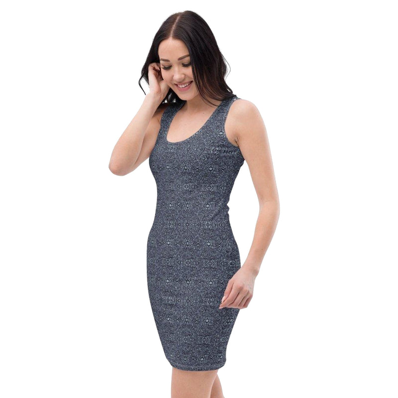 Product name: Recursia® Fabrique Unknown Series Pencil Dress. Keywords: Clothing, Fabrique Unknown, Pencil Dress, Women's Clothing