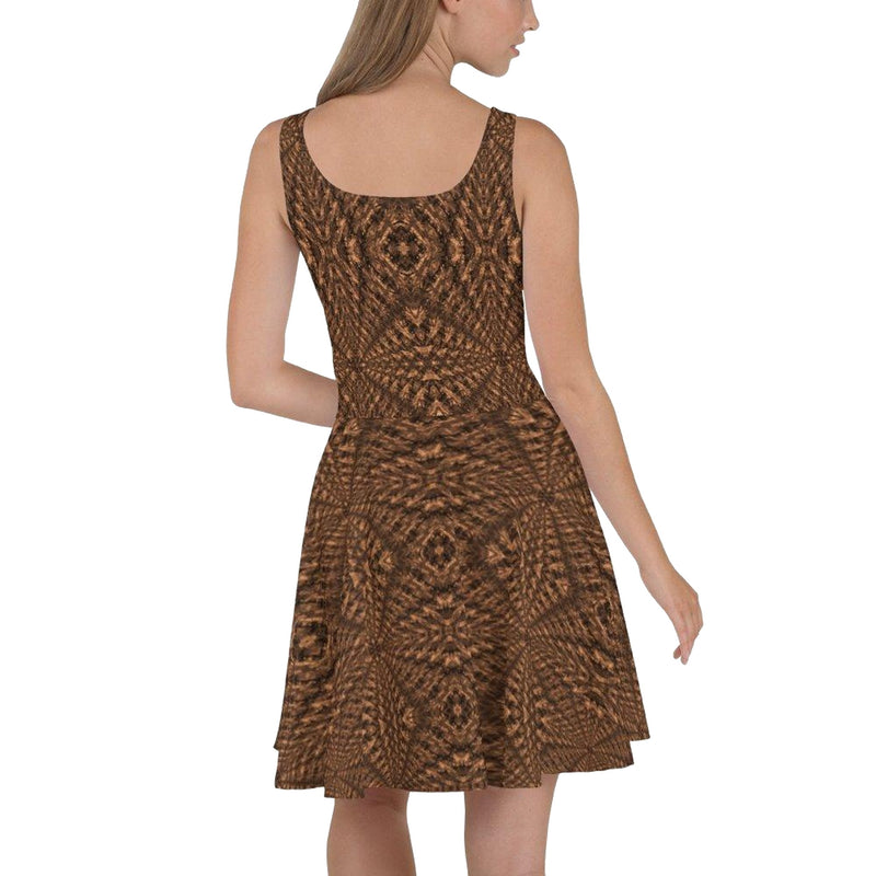 Product name: Recursia® Philosophy's Abode Series II Skater Dress. Keywords: Clothing, Philosophy's Abode, Skater Dress, Women's Clothing