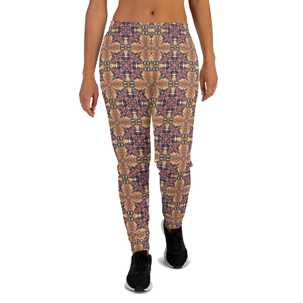 Product name: Recursia® Philosophy's Abode Series III Women's Joggers. Keywords: Athlesisure Wear, Clothing, Philosophy's Abode, Women's Bottoms, Women's Joggers