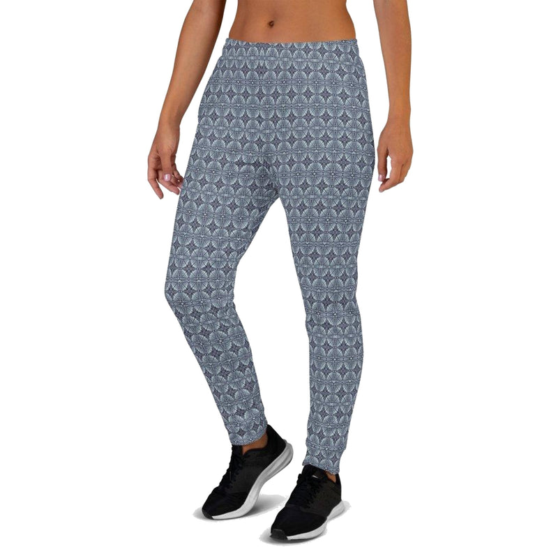 Product name: Recursia® Philosophy's Abode Series Women's Joggers. Keywords: Athlesisure Wear, Clothing, Philosophy's Abode, Women's Bottoms, Women's Joggers