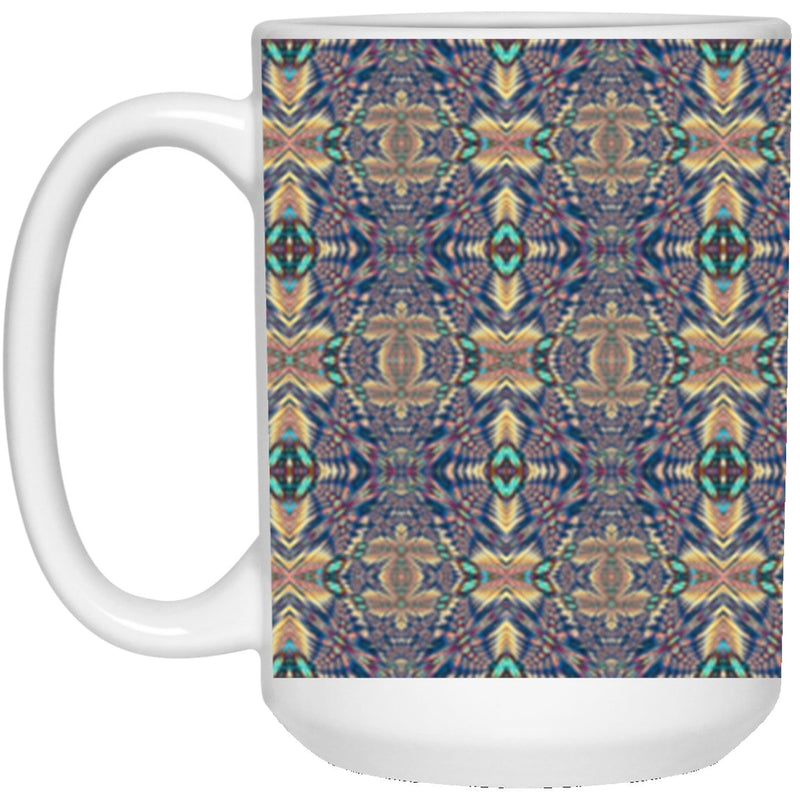 Product name: Recursia® Philosophy's Abode Series XV 15 Oz. Large Mug. Keywords: 15 Oz. Large Mug, Drinkware, Philosophy's Abode