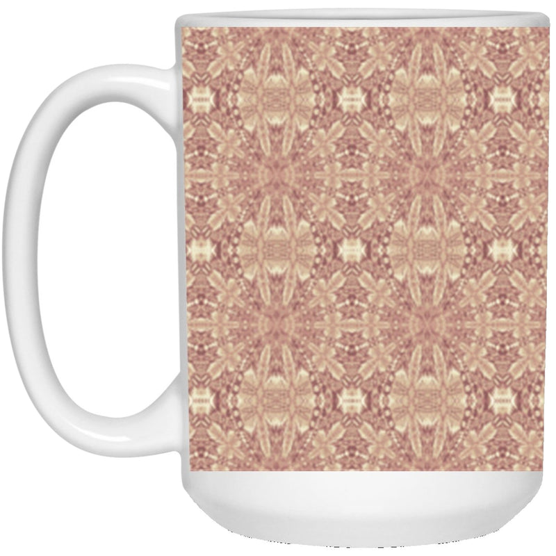 Product name: Recursia® Philosophy's Abode Series XVI 15 Oz. Large Mug. Keywords: 15 Oz. Large Mug, Drinkware, Philosophy's Abode