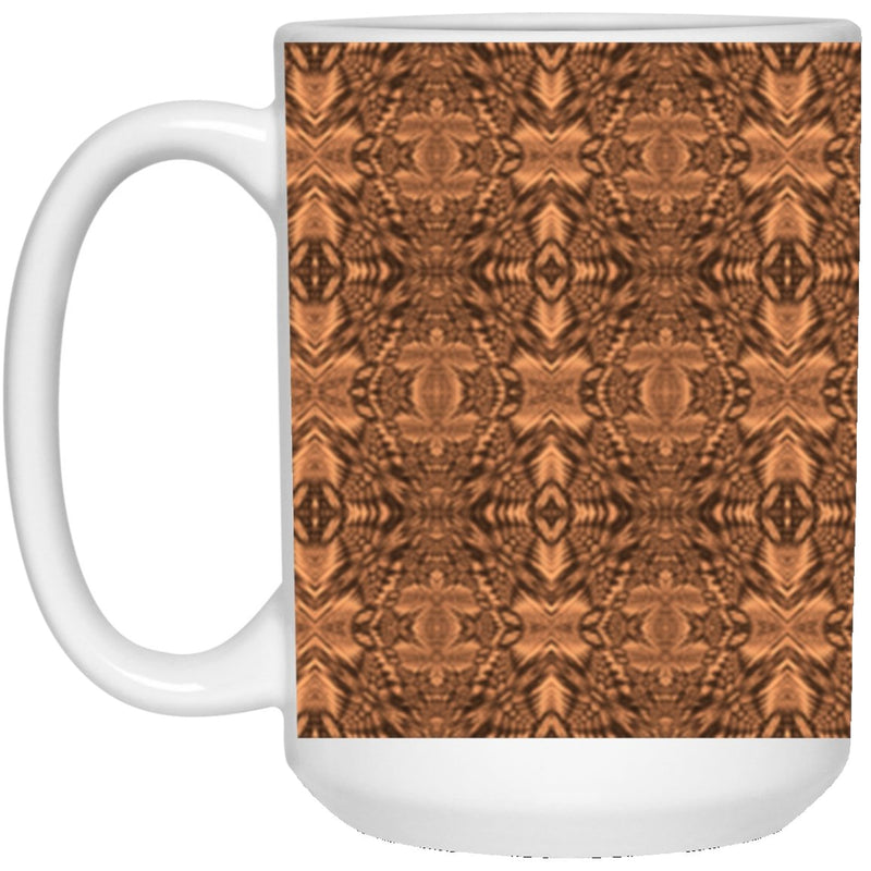 Product name: Recursia® Philosophy's Abode Series XVII 15 Oz. Large Mug. Keywords: 15 Oz. Large Mug, Drinkware, Philosophy's Abode