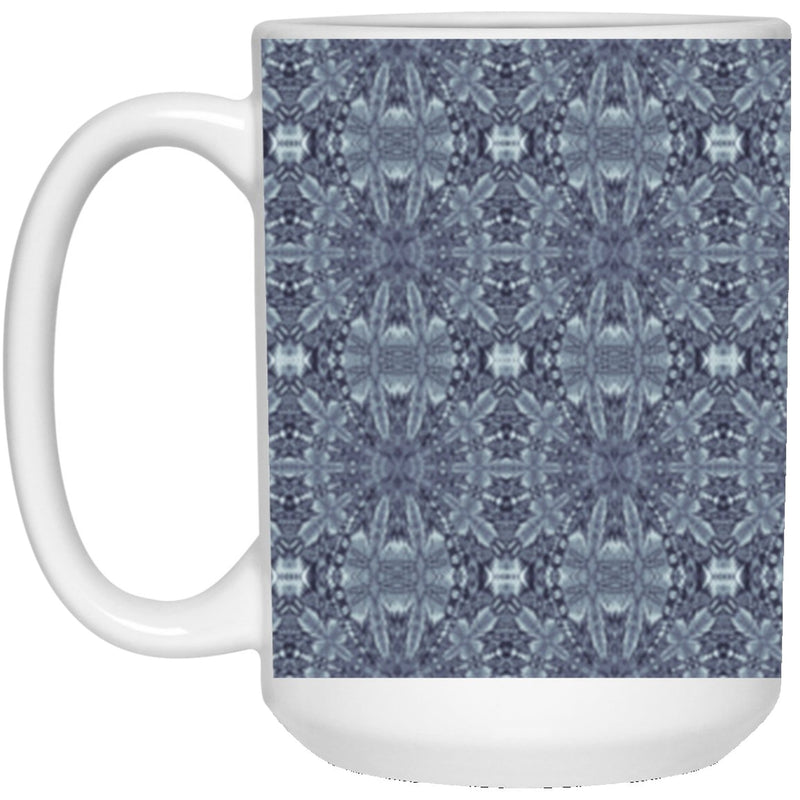 Product name: Recursia® Philosophy's Abode Series XVIII 15 Oz. Large Mug. Keywords: 15 Oz. Large Mug, Drinkware, Philosophy's Abode