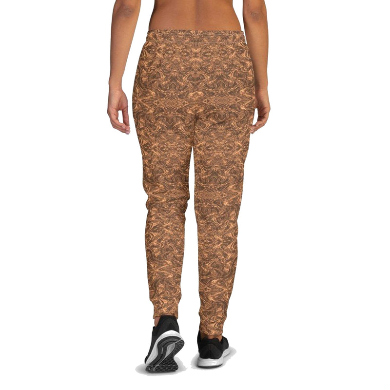 Product name: Recursia® Rainbow Rose Series Women's Joggers. Keywords: Athlesisure Wear, Clothing, Rainbow Rose, Women's Bottoms, Women's Joggers