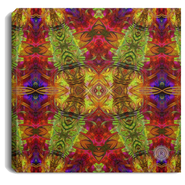 Product name: Recursia® Seer Vision Series I Square Canvas Print .75in Frame. Keywords: Canvas Prints, Home Decor, Seer Vision, Square Canvas Print .75in Frame