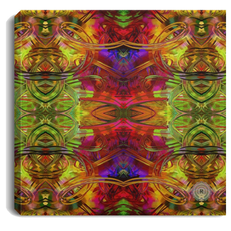 Product name: Recursia® Seer Vision Series Square Canvas Print .75in Frame. Keywords: Canvas Prints, Home Decor, Seer Vision, Square Canvas Print .75in Frame