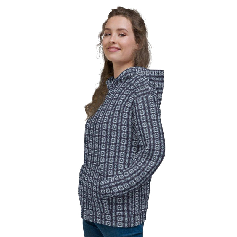 Product name: Recursia® Seer Vision Series Women's Hoodie. Keywords: Athlesisure Wear, Clothing, Seer Vision, Women's Hoodie, Women's Tops