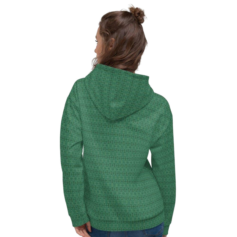 Product name: Recursia® Serpentine Dream Series I Women's Hoodie. Keywords: Athlesisure Wear, Clothing, Serpentine Dream, Women's Hoodie, Women's Tops