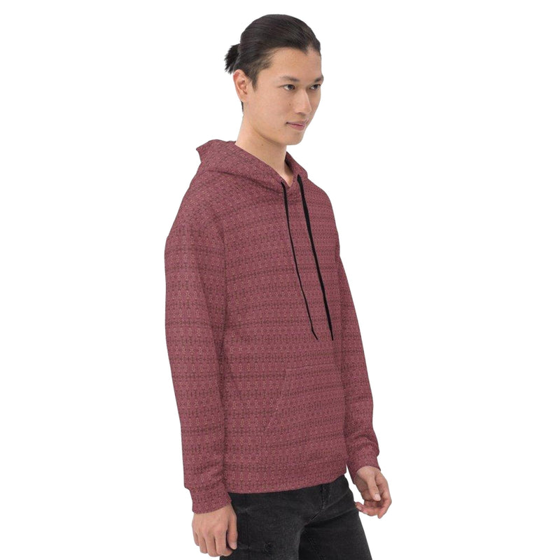 Product name: Recursia® Serpentine Dream Series II Men's Hoodie. Keywords: Athlesisure Wear, Clothing, Men's Athlesisure, Men's Clothing, Men's Hoodie, Men's Tops, Serpentine Dream