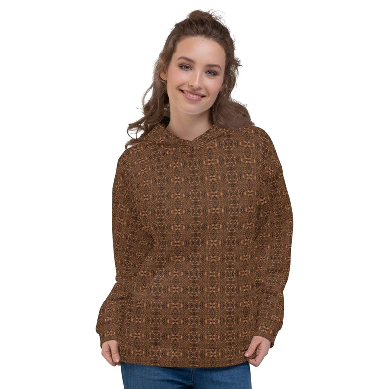 Product name: Recursia® Serpentine Dream Series Women's Hoodie. Keywords: Athlesisure Wear, Clothing, Serpentine Dream, Women's Hoodie, Women's Tops