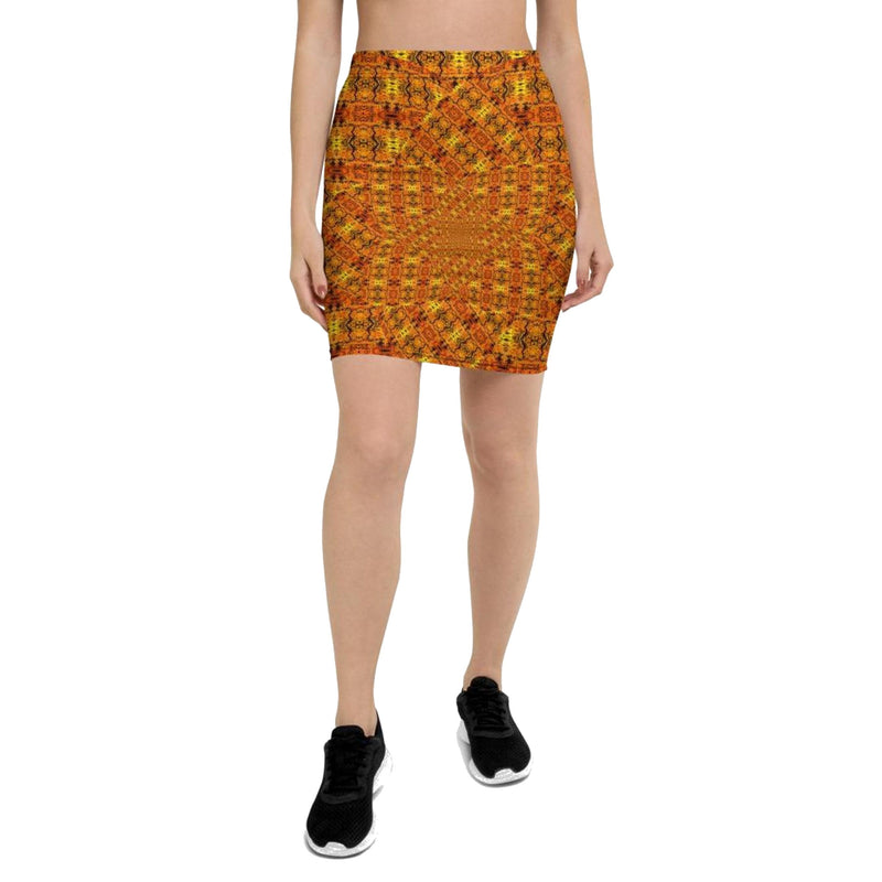 Product name: Recursia® Solar Vision Series Pencil Skirt. Keywords: Clothing, Pencil Skirt, Solar Vision, Women's Clothing