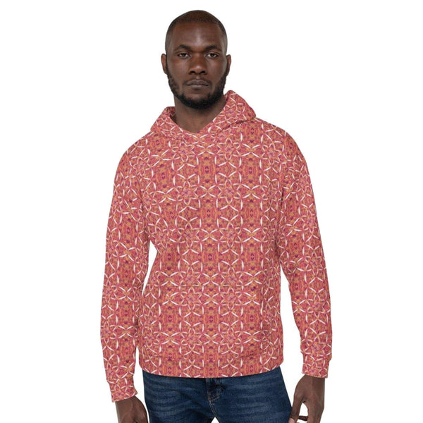 Recursia® Sunset Lotuslight Series Men's Hoodie - Recursia®