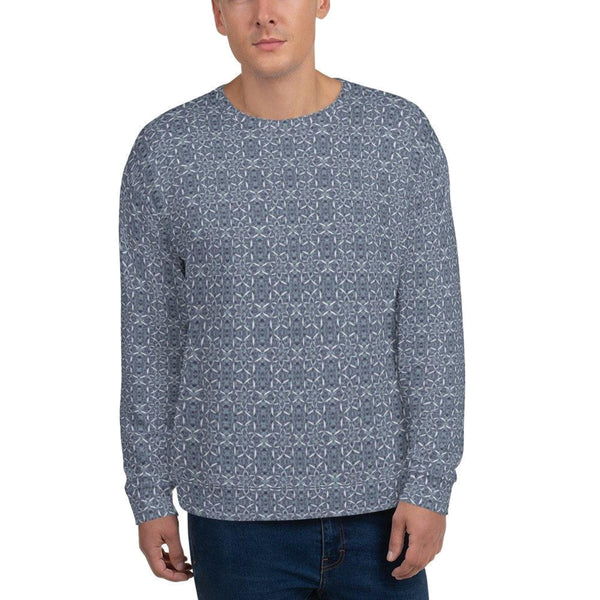 Recursia® Sunset Lotuslight Series Men's Sweatshirt - Recursia®