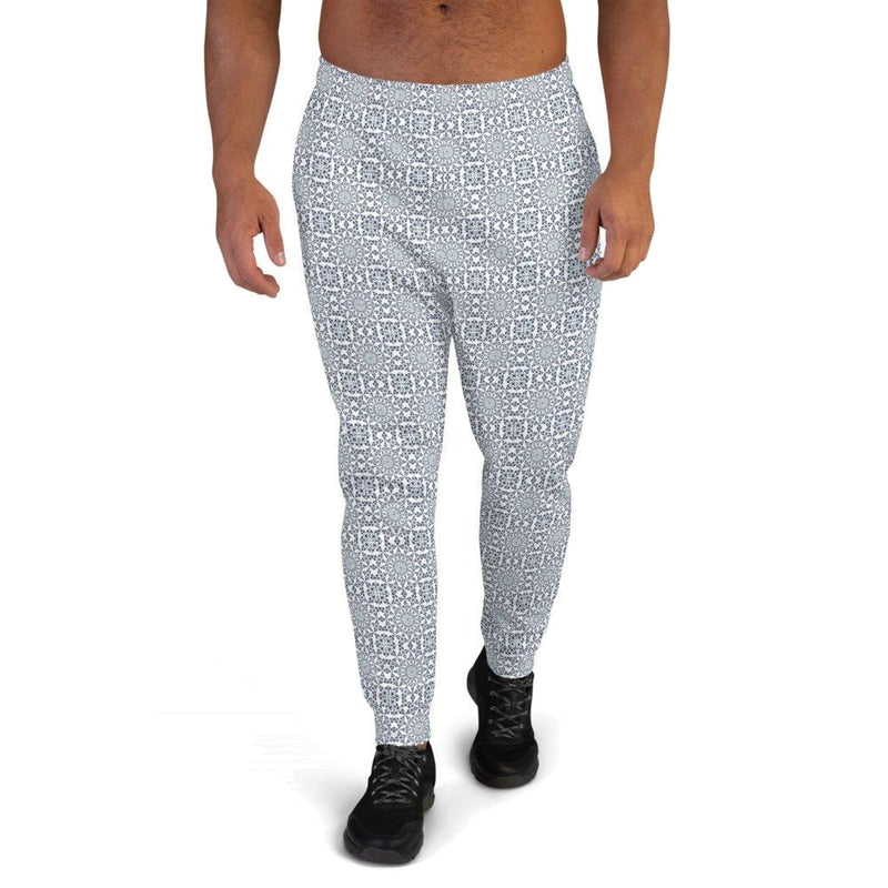 Product name: Recursia® Symmetree Series Men's Joggers. Keywords: Athlesisure Wear, Clothing, Men's Athlesisure, Men's Bottoms, Men's Clothing, Men's Joggers, Symmetree
