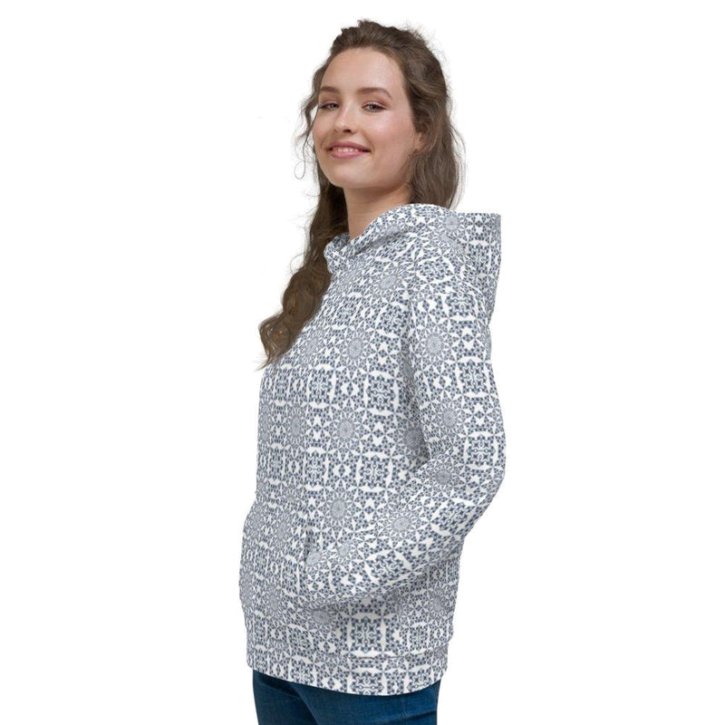 Product name: Recursia® Symmetree Series Women's Hoodie. Keywords: Athlesisure Wear, Clothing, Symmetree, Women's Hoodie, Women's Tops