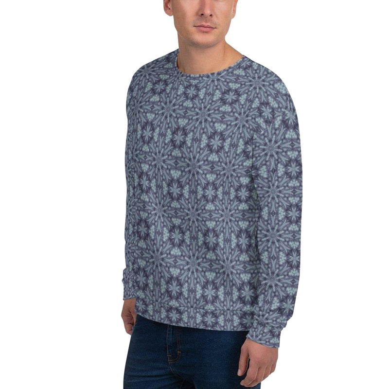 Product name: Recursia® Tie-Dye Overdrive Series II Men's Sweatshirt. Keywords: Athlesisure Wear, Clothing, Men's Athlesisure, Men's Clothing, Men's Sweatshirt, Men's Tops, Tie-Dye Overdrive