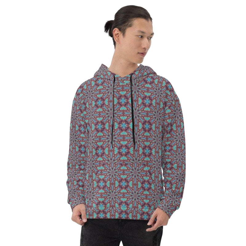 Product name: Recursia® Tie-Dye Overdrive Series Men's Hoodie. Keywords: Athlesisure Wear, Clothing, Men's Athlesisure, Men's Clothing, Men's Hoodie, Men's Tops, Tie-Dye Overdrive
