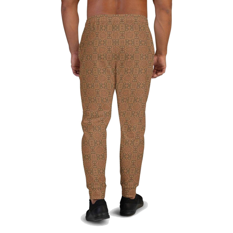 Product name: Recursia® Zebrallusions Series II Men's Joggers. Keywords: Athlesisure Wear, Clothing, Men's Athlesisure, Men's Bottoms, Men's Clothing, Men's Joggers, Zebrallusions