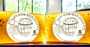 BAY RUM 'Beer & Honey' Soap -7.5oz