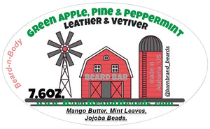 Green Apple, Peppermint & Pine -7.6oz