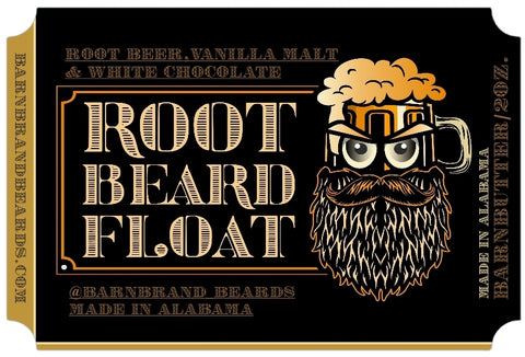 Root Beard Float  BarnButter -2oz