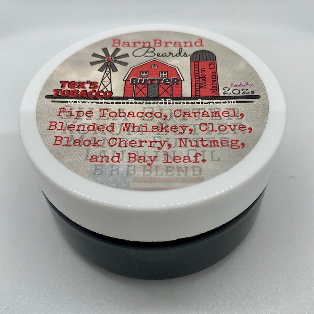 Tex's Tobacco BarnButter (Hybrid-Whip) -2oz
