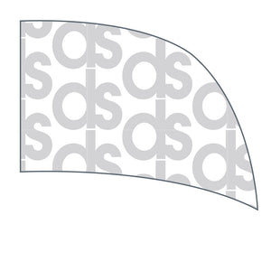 Custom Digital Print Curve Flag