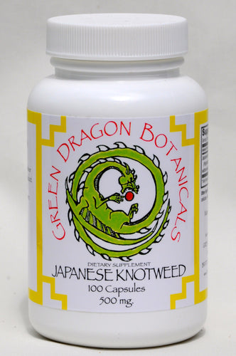 Japanese knotweed capsules