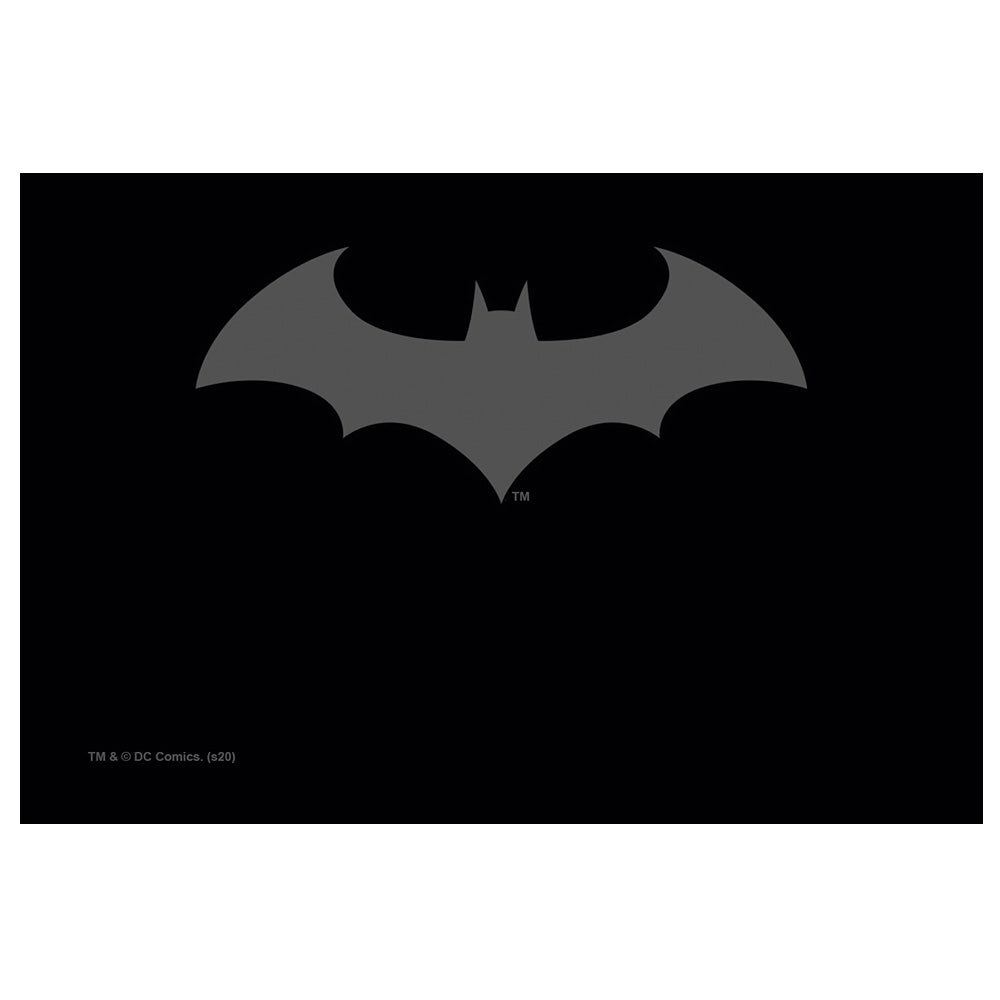 Batman Hush Logo Grey