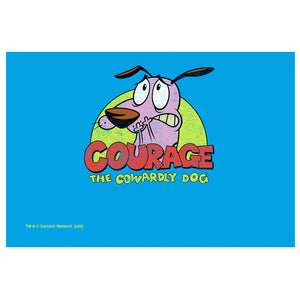 Courage the Cowardly Dog Colorful Courage