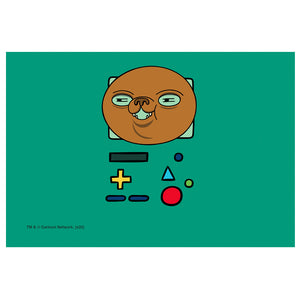 Adventure Time BMO Mask