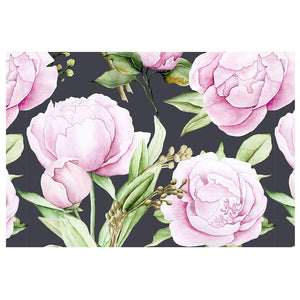 Watercolor Pink Roses Pattern
