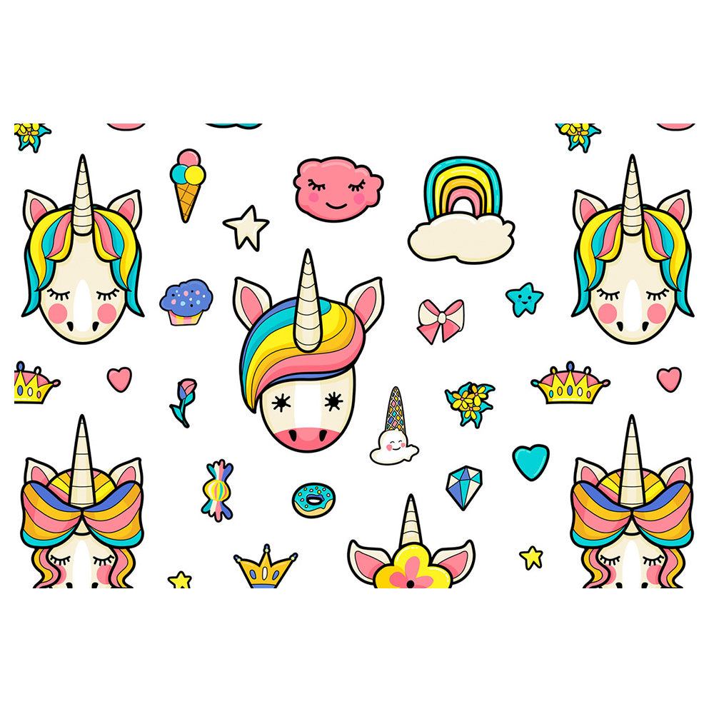 Rainbow Unicorns Pattern
