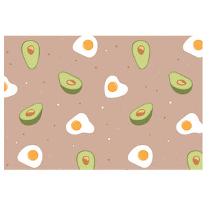 Avacado and Eggs Pattern