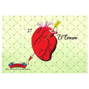 Loteria El Corazon Card Art
