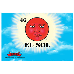 Loteria El Sol Card Art