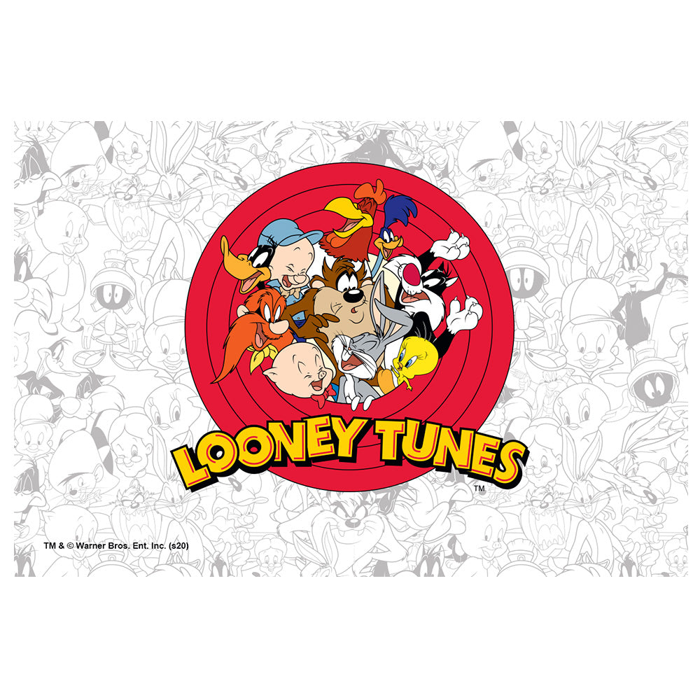 Looney Tunes Logo and Pattern