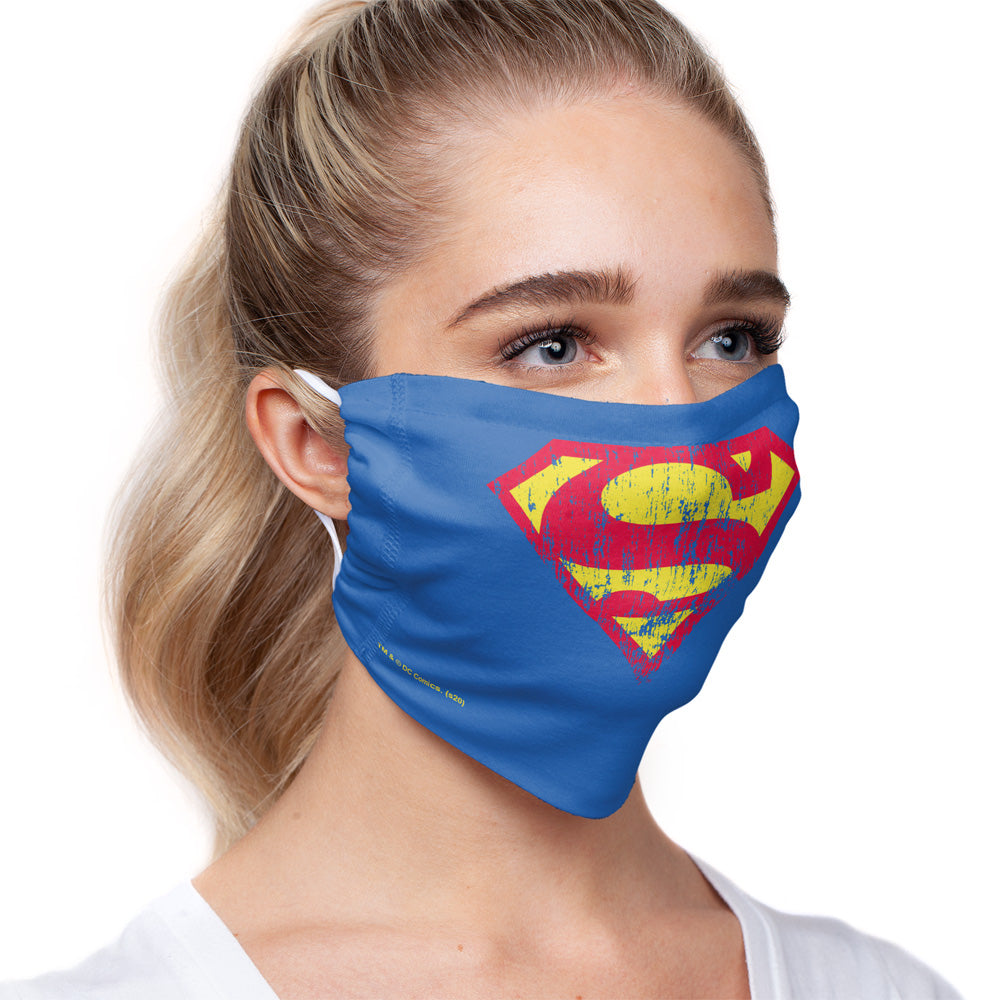 Superman Classic Logo Distressed