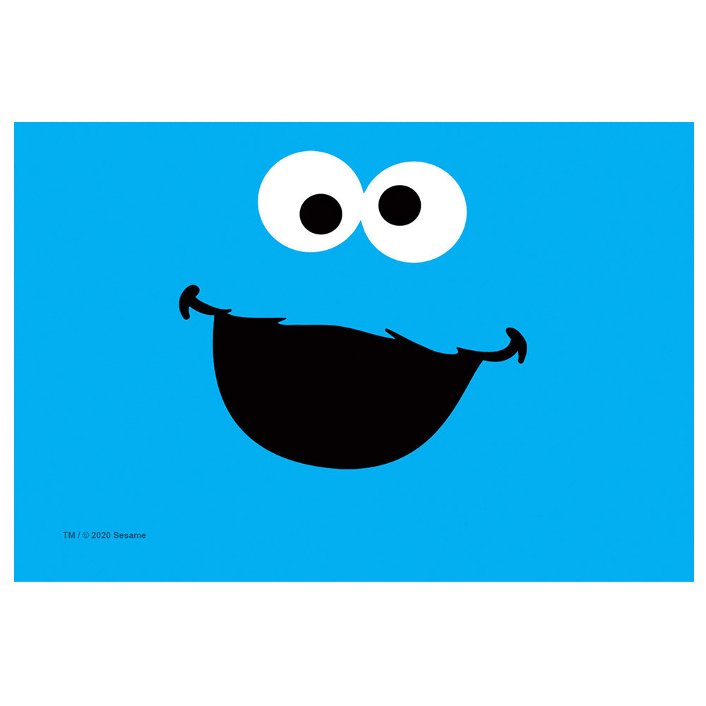 Sesame Street Cookie Monster Face