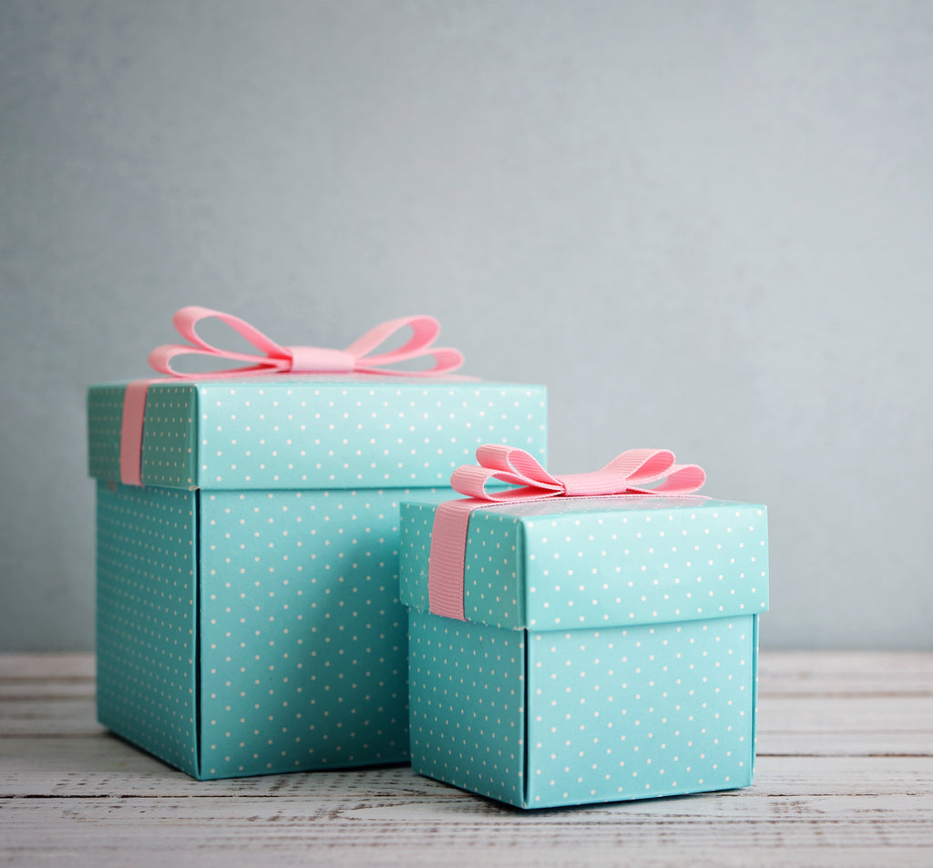 Gift Wrapping includes wrap and personalized note.