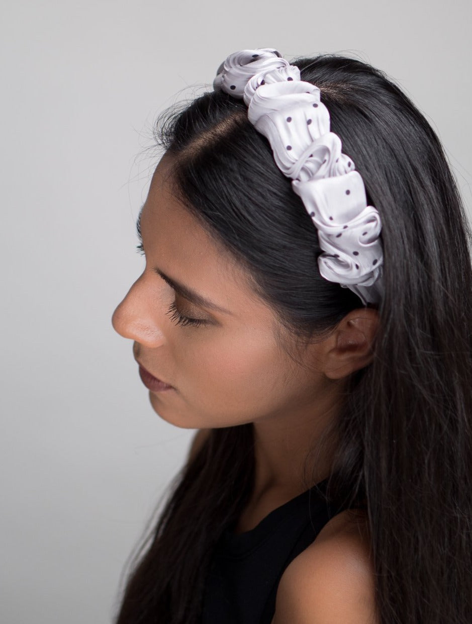 Purple Folds Wave Headband
