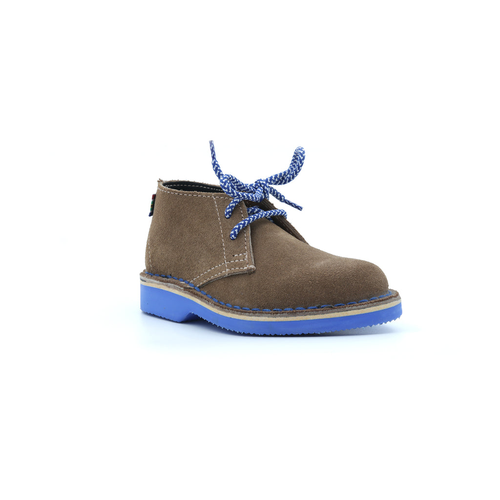 KIDS DESERT BOOT BLUE