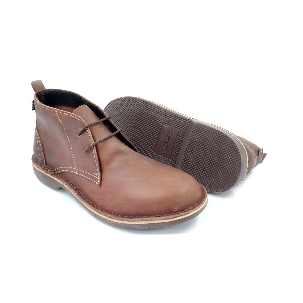 MEN'S CHUKKA BOOT BROWN