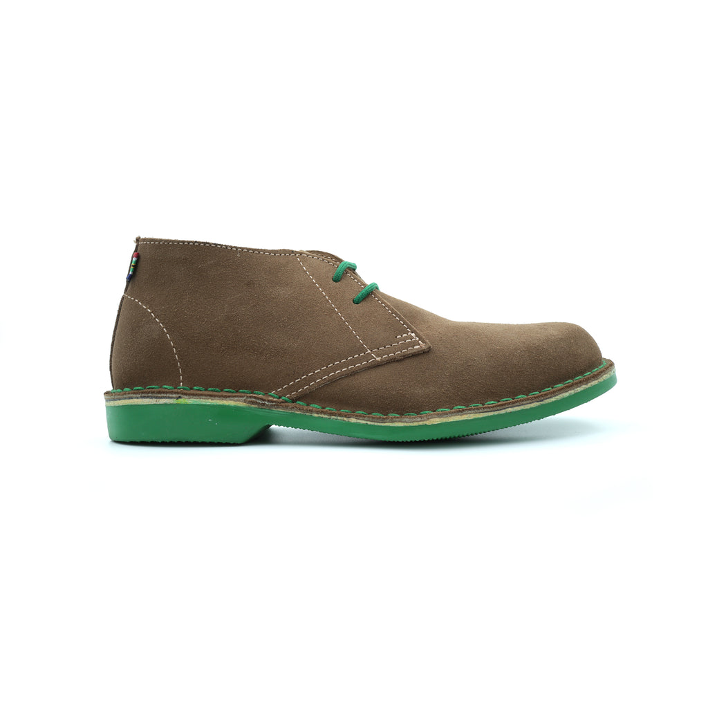 WOMEN'S DESERT BOOT LOWVELD GREEN