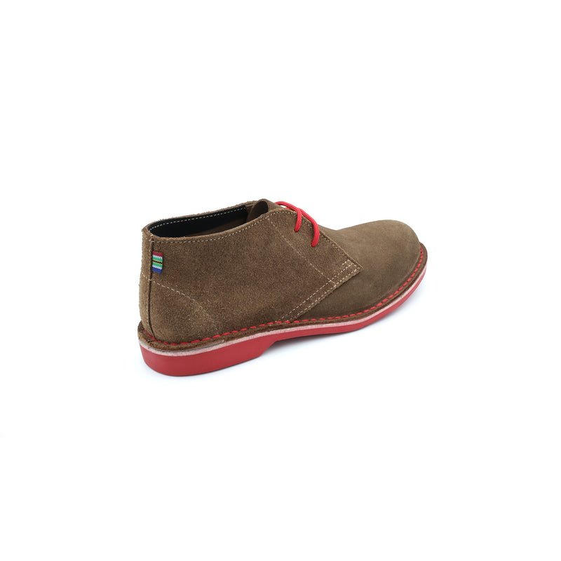 WOMEN'S DESERT BOOT PINOTAGE RED