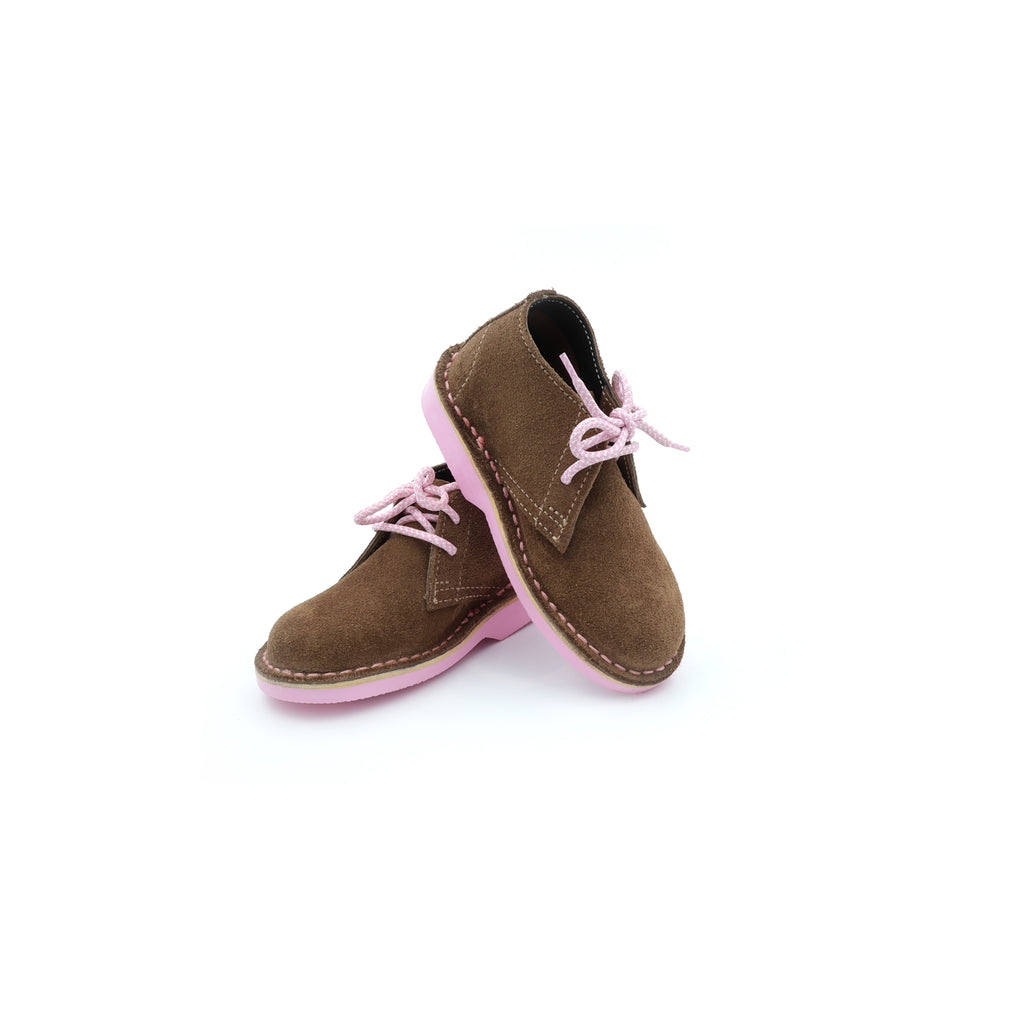 KIDS DESERT BOOT PINK